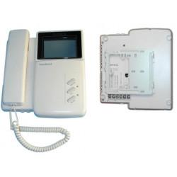 Moniteur surveillance video noir et blanc 4'' 8cm supplémentaire pour portier ph812sm n/b