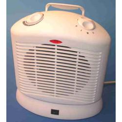 Ventilateur radiateur soufflant 230v 1000w/2000w