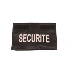 Bande securite pour poitrine pour gamme blouson blouson gardiennage secour intervention vigile