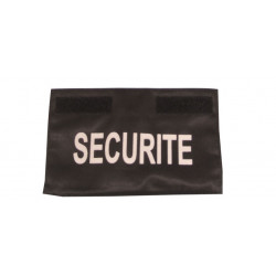Security strip for chest to be worn on jacket