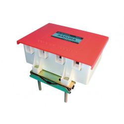Acoplador de mastil antena televisiva vhf, uhf acoplador accesorios television antenas tv acopladores