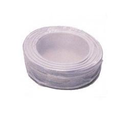 Cable 6x0.22 2x0.75 souple blinde blanc ø6mm (100m) fil 6x0,22 2x0,5 avec ecran cablage alarme