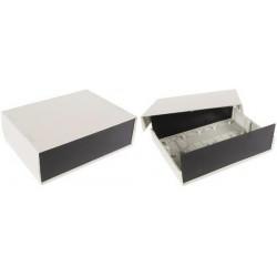 Wcah grigio contenitore di pvc scatola scatola scatola 260x190x85mm wcah2507 dispositivi di protezione