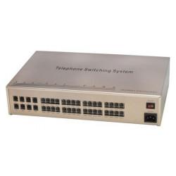 Central telephonique 8 lignes 32 postes analogique autocommutateur téléphone pabx standard autocom