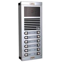 Video elektronik gegensprechanlage schwarz und weiss fur 12 wohnungen gegensprechanlagen sicherheitssystem sicherheitssysteme el