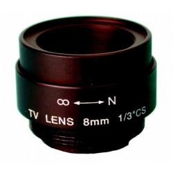 Objectivo de camara 8mm sin diafragma objectivos de camaras caml3b accesorios video vigilancia