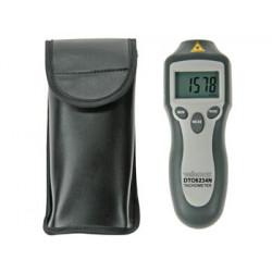 Tachymètre numérique instrument mesure tpm vitesse rotation velleman dto6234n
