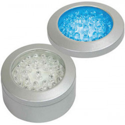 Applies a round blue leds low voltage led lighting eld280bl 64mm 230vac 220v light