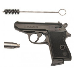 Pistolet automatique kimar lady k blanc gaz 9mm arme alarme pistolet alarme blanc securite defense