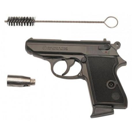 Automatic gun arm blank cartridges gas 9mm pistol alarm blank security  defence blank gun - Eclats Antivols