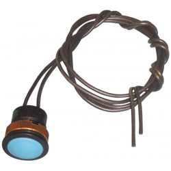 Blauer alarmdrucktaster speziell fur schlechteumgebung wasserdicht ohne kabel