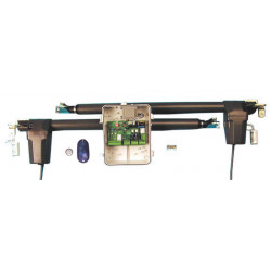 Turautomaten 2 flugeltore pack blockierende tore 2m 530mm 510w basic pack turantriebe torantriebe torantrieb turautomat turschli