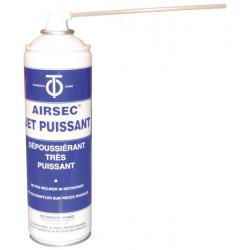 Aerosol gaz depoussierant 400ml 650ml airsec spray nettoyage qutn aecojp dépoussiérage air