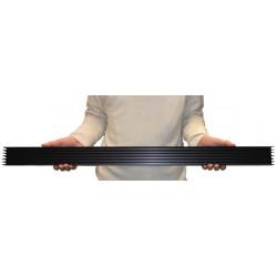 Pro radiator heat sink 2 ° c / w 66mm x 40mm x 1000mm / 10mm sole