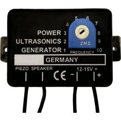 Generateur ultrason 12v m048 repulsif repousse chauve souris rat mulot moustique rongeur anti martre