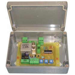 Map sequencer timer timer flasher flash 230vac/9v a 24v ac dc 10a relay box abs
