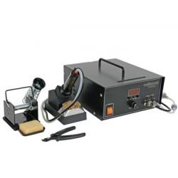 Temperature controlled vacuum desoldering station