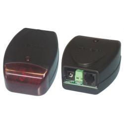 Avertisseur amplificateur sonnerie flash telephone 12v vm144 relais sirène girophare malentendant