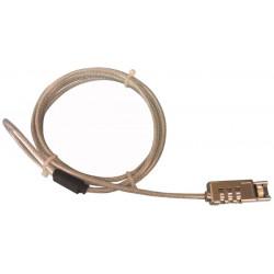 Eine kombination lock lock für laptop sicherheitsschloss pc-anschluss pclock1