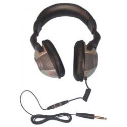 Casque ecoute hifi stereo jack mâle 6.35mm controle volume sonorisation sono