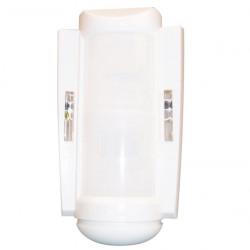 Detecteur mouvement micro onde capteur bivolumetrique exterieur infrarouge hyperfrequence 3 tech guard