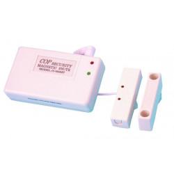 Detecteur ouverture magnetique alarme contact sans fil 20/40m 433.92mhz pour 980c1 15 980mt