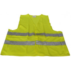 Reflective vest size xl 471 class 2 in yellow vests visibility road safety improvement