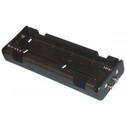 Coupleur de 6 piles c (lr14) avec contacts a pression bh261b velleman