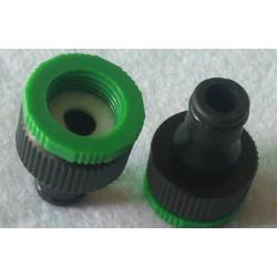 Adaptateur 3/4 1/2 robinet jardin tube arrosage extensible hose retractable gardena © pistolet eau