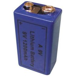 9v 1200ma batería de litio 6f22 6lf22 am6 1604a 6lr61 mn1604 a9v 522 a1604 4022 larga duración
