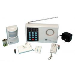 Kit allarme senza filo 300mhz (980ca+980mta+980ia+980ta+2 p12v+1 p9vah) sistema allarme senza filo casa negozio deposito
