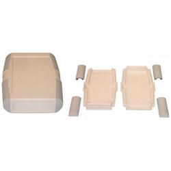 Della scatola ingranaggi retex grigio scatola 145x93x25mm apparecchiature cassetta di sicurezza elettronica