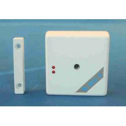 Emetteur radio electronique contact 433mhz 12vcc 20m pour alarme sans fil vr9