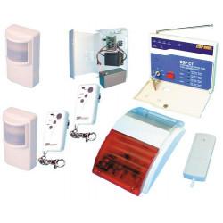 Kit allarme senza filo 433.92mhz(980c1+2 980t+2 980i+ssfs) allarme casa villa