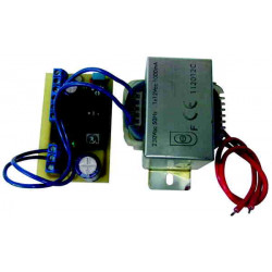 Map 1a 12v transformer with power adjustable from a 1v2 13v8 1a max