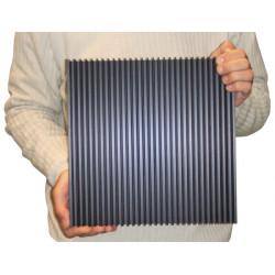 Radiator heatsink pro 0.28 ° c / w 300mm x 300mm x 40mm / 10mm sole