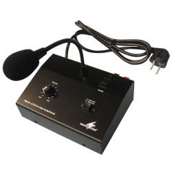Amplificador electronico pa mono 10w + microfono micro public adress public adress amplificador electronico