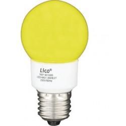 E 27 lampe mit gelber licht 220v 230v 1.3w energie sparsamkeit beleuchtung