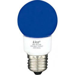 E27 1.3w led lamp has 220v 230v 240v globe blue 1w 1.2w 1.1w lampl60b light energy lighting