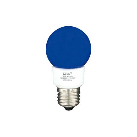 Lumiere Globe 1w Bleu 220v Couleur Eclairage Antivols 230v Lampe 2w 1w 1 240v 1 3w E27 A 1 Lampl60b Led Eclats 0wnOPk