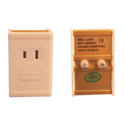 1600 Watts International Voltage Converter 220V To 110V For Laptops, Cameras, Phones, iPads etc