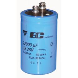 Condensador 22 000 micro faradio 25v