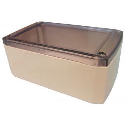 Caja retex serie33 190x115x75mm caja cojea plastico enjaulado transparente proteccion material