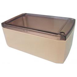 Box box 125x75x50mm retex serie102 sicuro pvc equipaggiamento protettivo trasparente