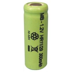 Bateria recargable 1.2v 300ma lr01 para receptor rbipa b c d e cadmium nickel baterias