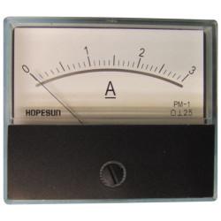 Galvanometer amperemeter 3a mit beweglicher zundspule 2.5