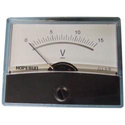 15v voltmeter galvanometer coil galvanometer has medp4815v class 2.5