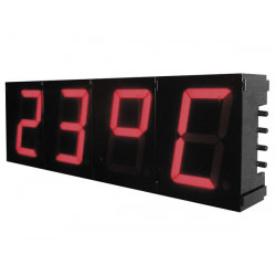 Big digital clock Velleman K8089 57mm 7segment Digital Clock Jumbo Multifunction Digital Clock Kit