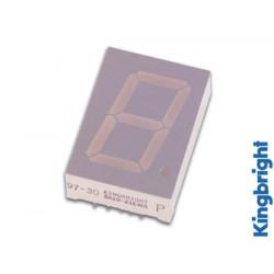 Afficheur 7 segments 25mm cathode commune  hyper rouge affichage sc10 21srwa velleman