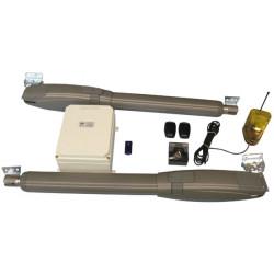 Turautomaten 2 flugeltore pack blockierende tore 4m 43.5cm 12v professional pack turantriebe torantriebe torantrieb intensive be